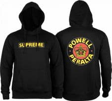 Powell Peralta Supreme Black Hood - Medium Adult