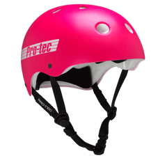 Pro-Tec Helmet The Classic- Pink Retro (Certified) - eXtra Large Adult