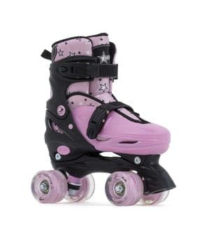 SFR NEBULA LIGHTS ADJUSTABLE QUAD SKATES