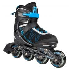 SKATELIFE LAVA ADJUSTABLE INLINE SKATES - BLUE / BLACK