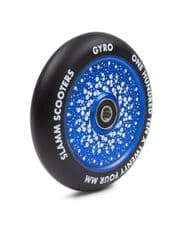 SLAMM 110MM GYRO HOLLOW CORE WHEELS - BLUE (single wheel)
