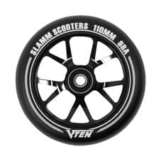 SLAMM 110MM V-TEN II WHEELS - Black (single wheel)