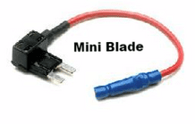 """ ADD A CIRCUIT"" <br>Mini fuse blade size, add a circuit fuse holders   <br>ALT/FH597-02"