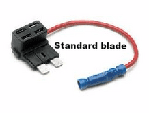 """ ADD A CIRCUIT"" Standard fuse blade size, add a circuit fuse holders   <br>ALT/FH450-02"