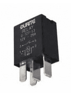12V Micro Make/Break Relay Sealed with Diode - 25A-0-727-13