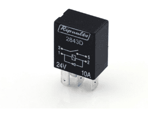 4 Pin automotive type 10 Amp WITH DIODE   24 Volt  MICRO relay       <br>ALT/RY2843D-09