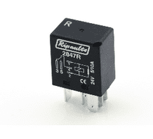 5 Pin automotive type 10 / 5 Amp  24v MICRO relay (Resistive) ALT/RY2847R-09