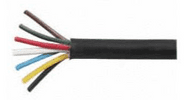7 Core PVC Trailer Cable - 6 x 1mm² and 1 x 2mm² x 10m-0-997-05
