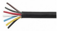 7 Core PVC Trailer Cable - 6 x 1mm² and 1 x 2mm² x 30m-0-997-00