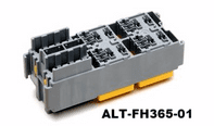 ALT-FH365-01 <BR>MINI BLADE FUSE & MICRO RELAY BOX <BR> ACCEPTS 6 FUSES & 4 MICRO RELAYS