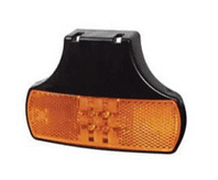 Amber LED Side Marker & Reflex Reflector Lamp with Bracket and Superseal Plug - 12/24V-0-171-11