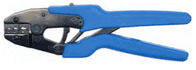 Crimping tool (Ratchet type) for pre-insulated RED, BLUE & YELLOW terminals <br> ALT/TT84-01