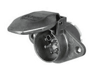 DURITE 24V 7 Pin Alloy Trailer Plug - ISO 3731(24S) 0-477-96