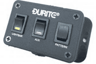 DURITE <br>LIGHT BAR CONTROL SWITCH  PANEL<br> 0-443-99<br><br>