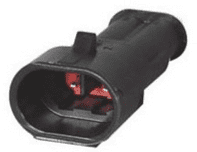 DURITE - Superseal 1.50mm Male Blade Housing - 2 Way-0-011-52