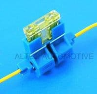 "In-line ""Scotchlok"" type STANDARD blade fuse holder <br>ALT/FU9-02"