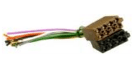 ISO RADIO POWER & SPEAKER CONNECTION CABLE   <br> ALT/AIS2030-21