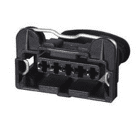 Junior Power Timer Female Connector - 5 Way-0-012-75<br><br>