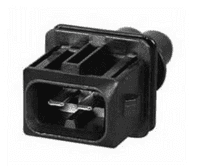 Junior Power Timer Male Connector - 2 Way-0-012-62