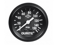 Mechanical Air Pressure Gauge with 12' Capillary - 52mm-0-533-01