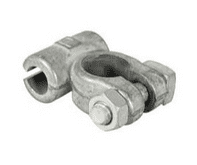 Negative Commercial Battery Terminals - drilled 11.1mm for 60mm² cable-2-388-10