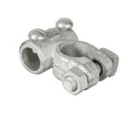 Negative Heavy Duty Solderless Battery Terminals - drilled 14.3mm for extra large cable-2-559-10