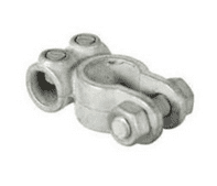 Negative Japanese Type Battery Terminals - drilled 9.4mm for 20mm and 25mm cable-2-017-01
