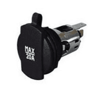 Power Socket with Cover - 20A-0-601-01