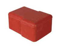 Red Rubber Battery Terminal Cover-5-558-99