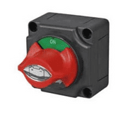 Rotary Marine Battery Isolator with Removable Control Knob in Off Position - 300A 48V   0-605-11