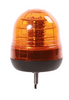 Single Bolt Flashing LED Beacon - 12/24V-0-445-16