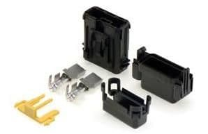 SPLASHPROOF MAXI Blade fuse holder with cover