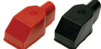 STUD TYPE  BATTERY TERMINAL COVERS   Pos/Neg<br> ALT/BTC50R/B-01