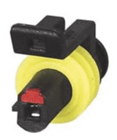 Superseal 1.50mm Female Receptacle Housing - 1 Way-0-011-61