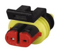 Superseal 1.50mm Female Receptacle Housing - 2 Way-0-011-62