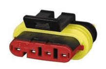 Superseal 1.50mm Female Receptacle Housing - 4 Way-0-011-64