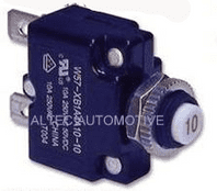 THERMAL FUSES /CIRCUIT BREAKER (manual reset) Range from 3A - 40Amp