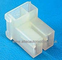 TWIN GANG INSULATION COVERS FOR 6.35mm **FLAG TYPE** UN-INSULATED TERMINALS   ALT/RS63024