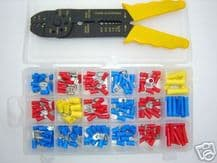 Wiring terminal and crimp tool kit<br> ALT/K107-01