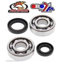 Honda CR125 1980 - 1986 All Balls Crankshaft Bearing and Seal Kit
