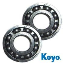 Honda CR125 1984 - 2001 Koyo Crankshaft Main Bearings 63/22 C3