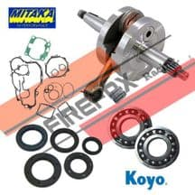 Kawasaki KX125 2003 - 2011 Mitaka Bottom End Rebuild Kit