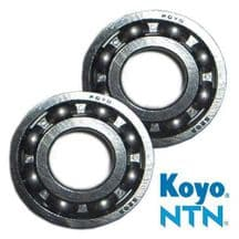 KTM125 SX & EXC 1991 - 2016 Koyo/NTN Crankshaft Main Bearings
