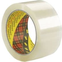 6 Clear Packaging Tape Rolls Scotch 3M Size 48mm x 66m Parcel Packing