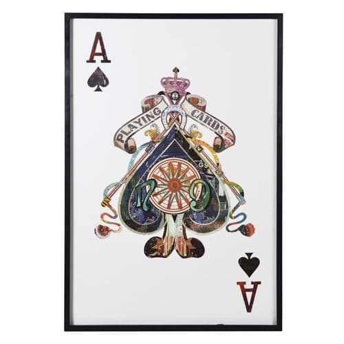 Ace Of Spades Picture Collage