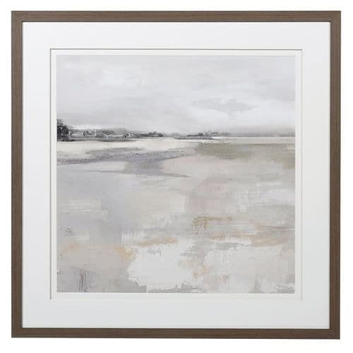 Mist Over Water Framed Picture