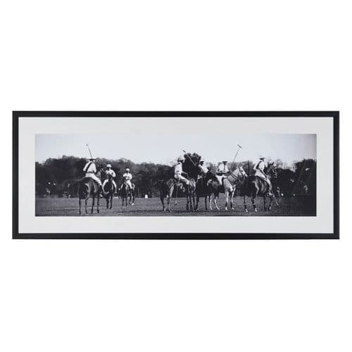 Polo Framed Picture 'The Game is ON'