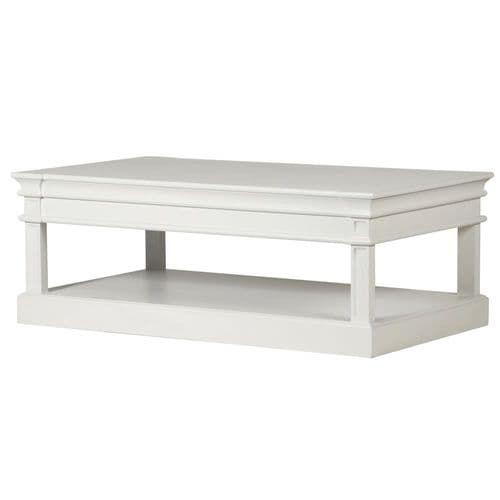 White Farnley Coffee table