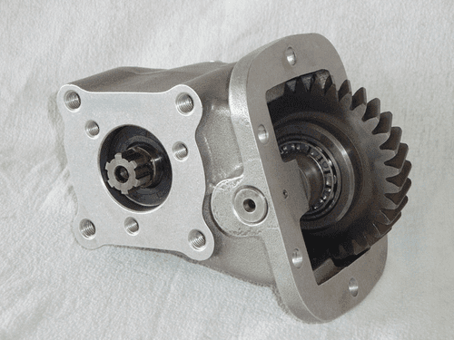 Iveco Daily ZF 5S-270 Power Take Off Unit (Mechanical) - 3 Bolt Output