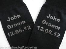 Personalised Socks, Groom, Best Man, Usher Dad, Grandad.